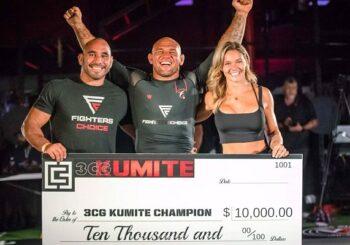 """Wyniki 3rd Coast Grappling Kumite IV - """"Cyborg"""" miażdży konkurencję i zgarnia 10 tys. $"""