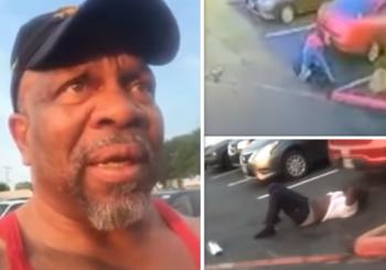 62-letni mężczyzna, adept BJJ, zostaje zaatakowany na parkingu. Usypia agresora [wideo]