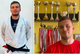 Bartosz Zawadzki promowany na czarny pas BJJ