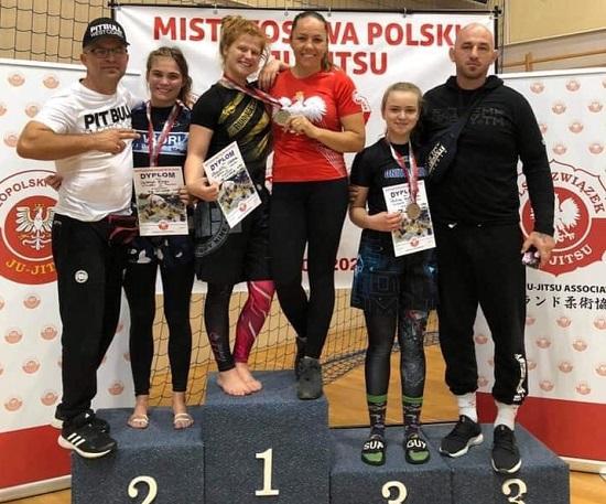 Berserkers Team Junior wraca z workiem medali z Mistrzostw Polski Ju-Jitsu Ne-waza