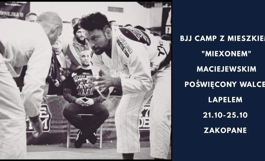 BJJ Camp z Miexonem w Zakopanem już pod koniec października