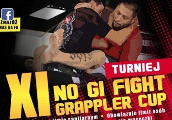 Pierwsze listy startowe na XI Turniej No-Gi Fight Grappler Cup + przypomnienie o końcu zapisów