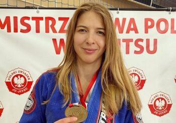 Zofia Szawernowska złotą medalistką Mistrzostw Polski Ju-Jitsu