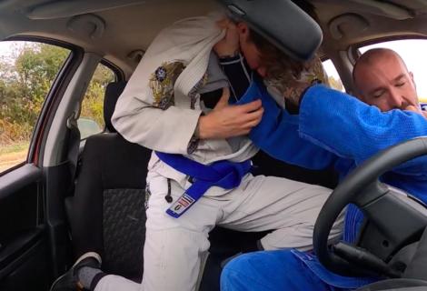 """Czy """"Car-Jitsu"""" to najdziwniejsze co dzisiaj zobaczycie ? [Video]"""