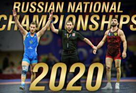 Najlepsze akcje z Mistrzostw Rosji w Zapasach 2020 [Video]