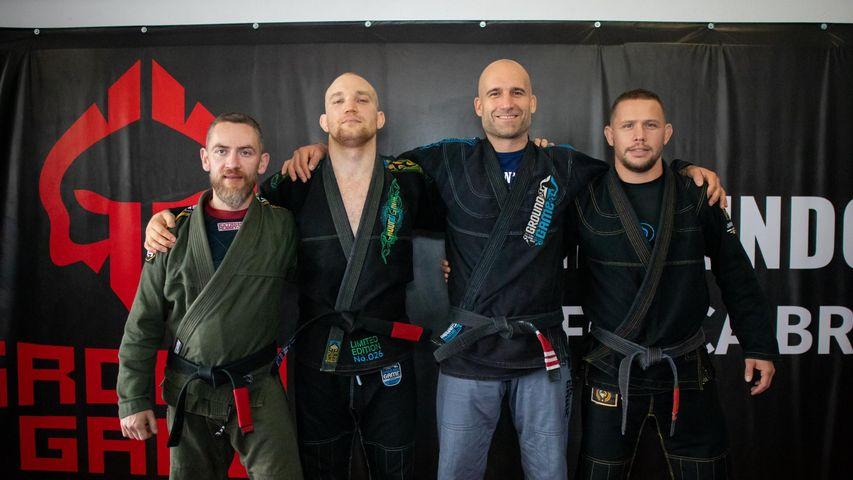 Maksymilian Kubiak zasila szeregi czarnych pasów Dragon's Den Fight Club