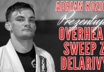 Adrian Kozicz objaśnia jak przetoczyć przeciwnika z gardy delariva [Video]