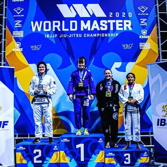 Maria Małyjasiak z podwójnym złotem na IBJJF Masters Worlds