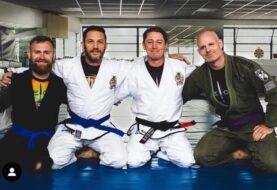 Tom Hardy promowany na niebieski pas BJJ