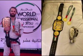 Adam Wardziński z kolejnymi złotymi medalami i wyróżnieniem po turnieju Abu Dhabi World Pro