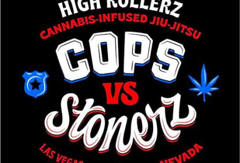 """High Rollerz """"Cops vs Stonerz"""" czyli kolejna edycja upalonego turnieju, gdzie do rywalizacji staną policjanci"""