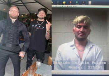 Dillon Danis aresztowany przed klubem nocnym